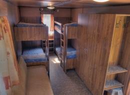 Kemp Sykovec - ubytování chatka