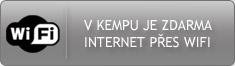Zdarma internet WiFi v kempu Sykovec