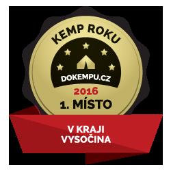 Kemp Sykovec - Kemp roku 2016 na Vysočině