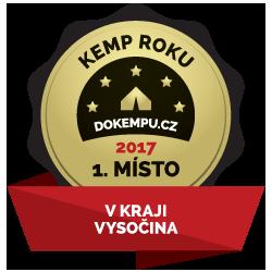 Kemp Sykovec - Kemp roku 2017 na Vysočině